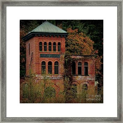 Old Olympia Brewery Framed Print