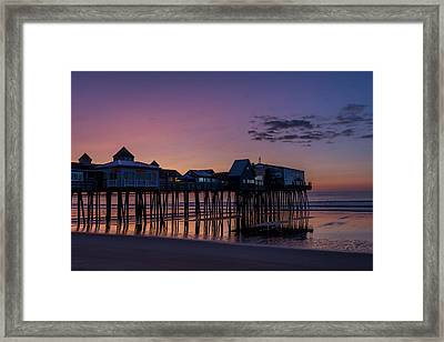 Old Orchard Beach  Framed Print