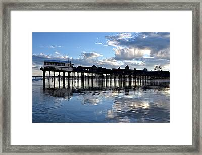 Old Orchard Beach Pier Framed Print