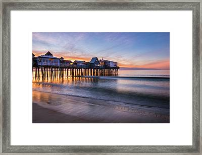 Old Orchard Beach Framed Print by Thomas Schoeller