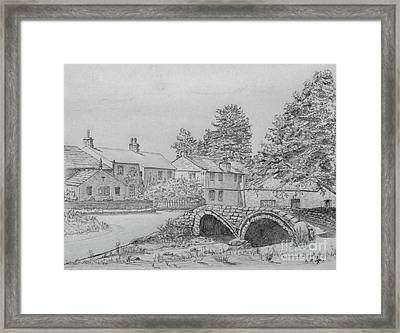 Old Packhorse Bridge Wycoller Framed Print