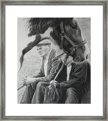 Old Pals Spancilhill Framed Print