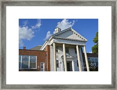Old Paradise Elementary School Framed Print