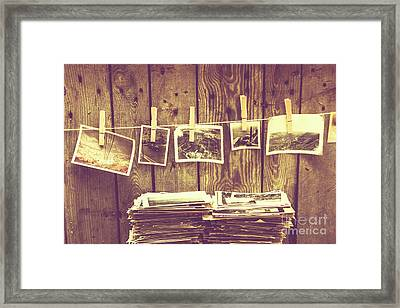 Old Photo Archive Framed Print by Jorgo Photography - Wall Art Gallery