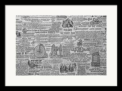 Knowledge Object Drawings Framed Prints