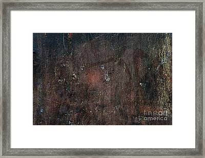 Framed Print featuring the photograph Old Plastered And Painted Wall by Elena Elisseeva