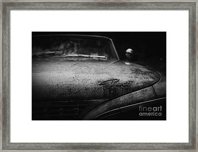 Old Plymouth Framed Print by Edward Fielding