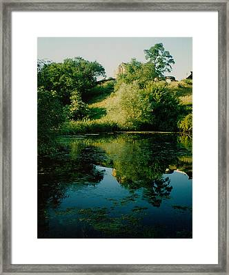 Framed Print featuring the photograph Old Pond by Kathleen Stephens