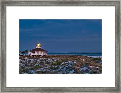 Old Port Boca Grande Lighthouse Framed Print