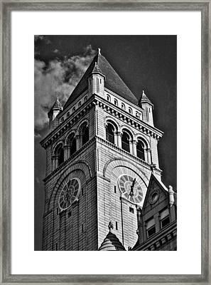 Old Post Office Pavilion Tower #2 Framed Print