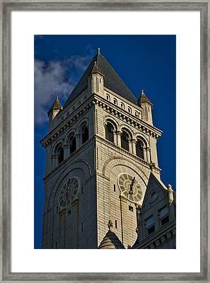 Old Post Office Pavilion Tower Framed Print