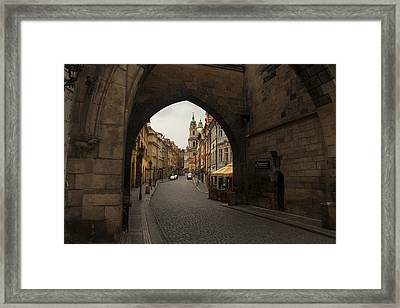 Old Prague Framed Print