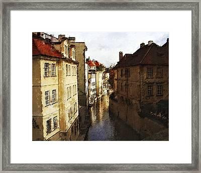 Old Prague Framed Print by Jo-Anne Gazo-McKim