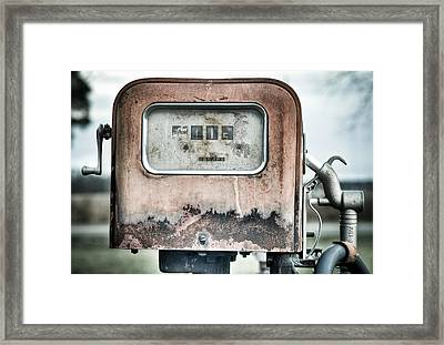 Old Pump Framed Print by Andrew Crispi