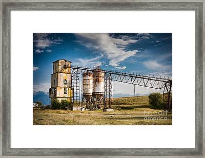 Old Quarry Framed Print