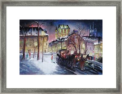 old Quebec Framed Print