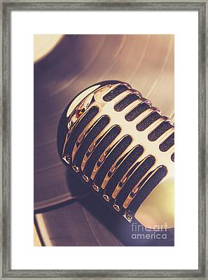 Old Radio Nostalgia Framed Print by Jorgo Photography - Wall Art Gallery