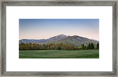 Old Rag Mountain Morning - Virginia Framed Print