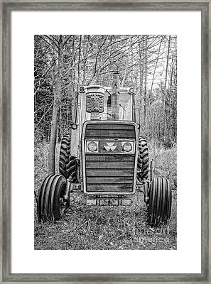 Old Reliable Tractor Framed Print by Edward Fielding