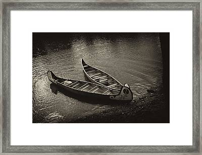Old River Framed Print by Off The Beaten Path Photography - Andrew Alexander
