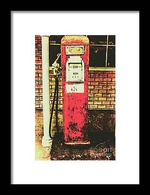 Historic Route 66 Framed Prints
