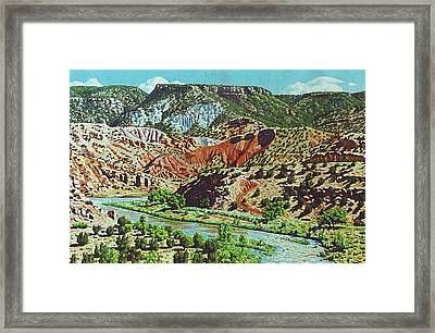 Old Roads To Chama Framed Print