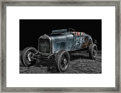 Old Roadster Framed Print