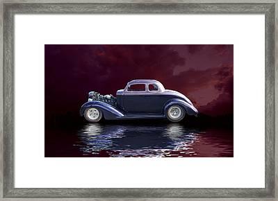 Old Rod Framed Print by Jim  Hatch