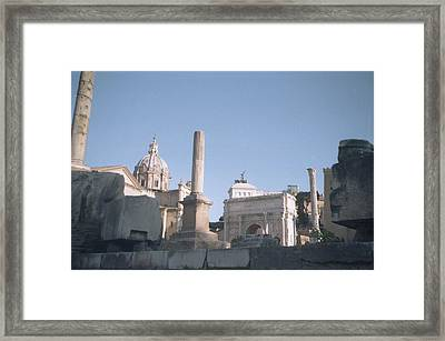Old Rome Framed Print