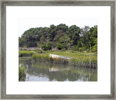 Old Rowboat Framed Print