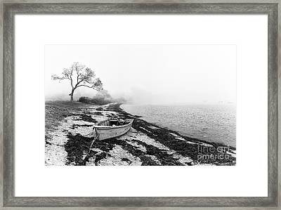 Old Rowing Boat Framed Print by Jane Rix
