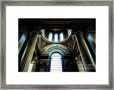 Old Royal Naval College 2 Framed Print by Lexa Harpell