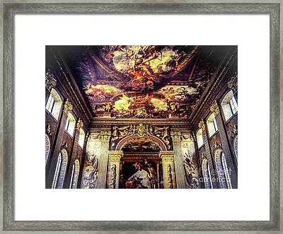 Old Royal Naval College 3 Framed Print by Lexa Harpell