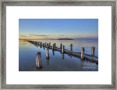 Old Saltair Infrastructure Framed Print