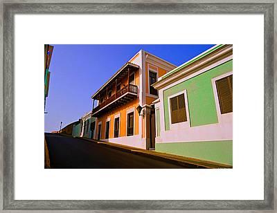 Old San Juan Framed Print