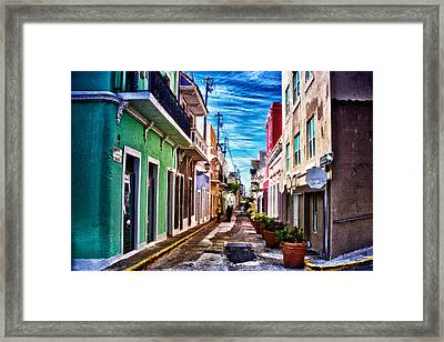Old San Juan Framed Print by Jarrod Erbe