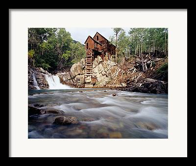 Marble Mill Framed Prints