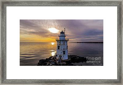 Old Saybrook Outer Light Framed Print