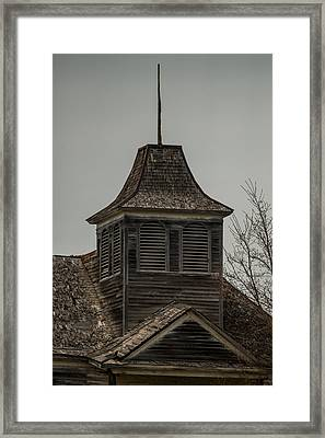 Old School Bell Tower Framed Print by Paul Freidlund
