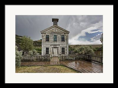 Bannack Montana Framed Prints