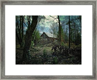 Old School House Framed Print by Bill Wranich