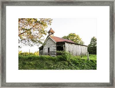 Old School House Framed Print by Lisa Lemmons-Powers