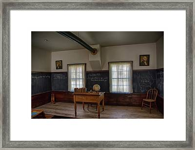 Old School House Framed Print