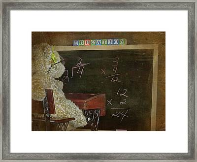 Old School Framed Print by Maria Dryfhout