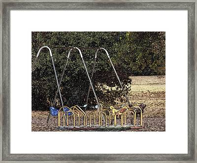 Old School Framed Print by Wild Thing