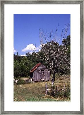 Old Shack Framed Print by Curtis J Neeley Jr