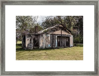 Old Shack Framed Print