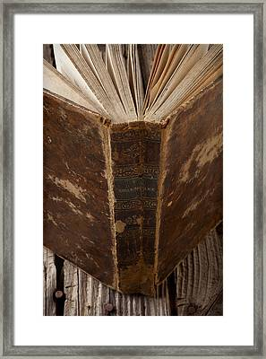 Old Shakespeare Book Framed Print by Garry Gay