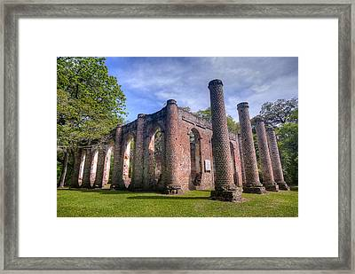 Old Sheldon Church Framed Print by Andreas Freund