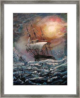 old Ship of Zion Framed Print